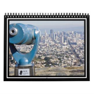 Opinión San Francsco (espectador borroso) Calendario