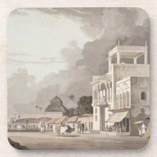 Opinión sobre el camino de Chitpore, Calcutta, pla Posavaso