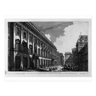 Opinión sobre el palacio de Quirinal del soporte Postal