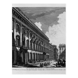 Opinión sobre el palacio de Quirinal del soporte Tarjeta Postal