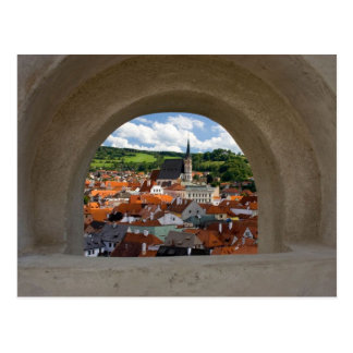 Opinión sobre la ciudad de Cesky Krumlov del casti Postal