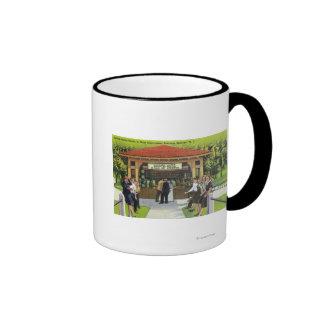 Opinión turistas en la casa de la primavera de Hat Tazas De Café
