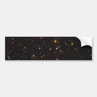 Opinión ultra profunda del campo de Hubble de 10.0 Etiqueta De Parachoque