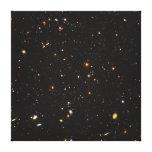 Opinión ultra profunda del campo de Hubble de 10.0 Lona Envuelta Para Galerías