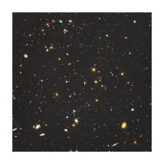Opinión ultra profunda del campo de Hubble de Impresión En Lona