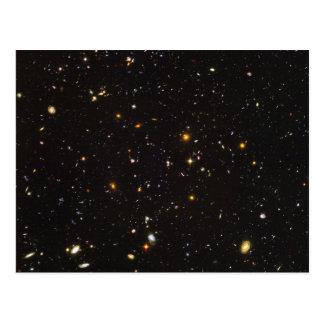 Opinión ultra profunda del campo de Hubble de Postales