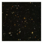 Opinión ultra profunda HUDF- del campo de Hubble s Impresiones