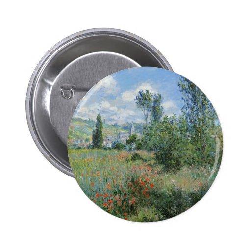 Opinión Vétheuil - Claude Monet Pin