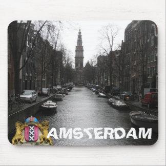 Opinión Zuiderkerk Mousepad de la ciudad de Amster Tapete De Ratones