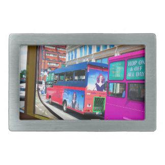 Opiniones de la ciudad del viaje del autobús de hebillas de cinturón rectangulares