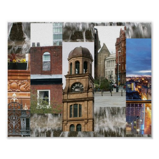 Opiniones de Manchester Póster