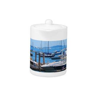 Opiniones del lago sailBoats de la vela de los