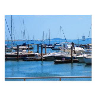 Opiniones del lago sailBoats de la vela de los Postales