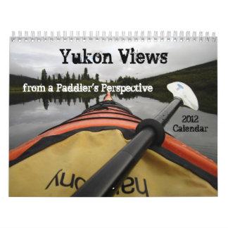 Opiniones del Yukón de la perspectiva de un Calendarios
