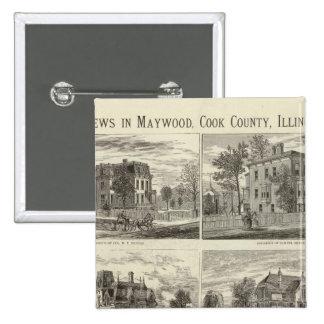 Opiniónes en Maywood, el condado de Cook, Illinois Pin Cuadrado