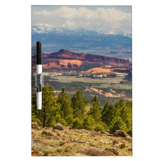 Opiniones espectaculares del paisaje de Utah Pizarra