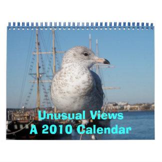 Opiniónes inusuales, un calendario 2010