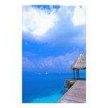 Opiniones tropicales del hotel de Maldivas Papelería