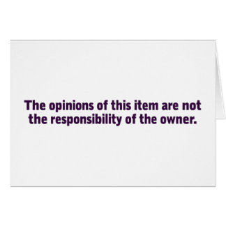 Opinions of this item greeting card