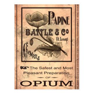 Opium-1883 Postcard