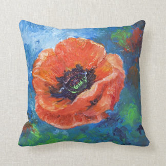 Opium Dreams Throw Pillow