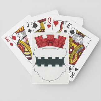 Opladen Coat of Arms - Town of Opladen Leverkusen Playing Cards