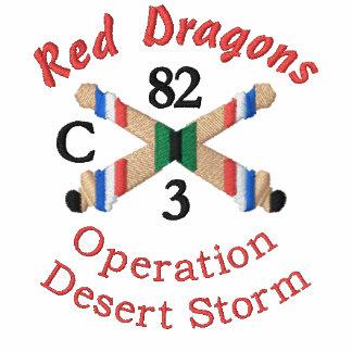 Opn. Desert Storm Artillery Unit Embroidered Shirt