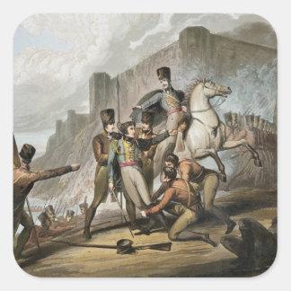 Oporto, 'de las victorias del duque de manar pegatina cuadrada