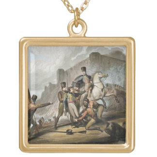 Oporto, from 'The Victories of the Duke of Welling Square Pendant Necklace