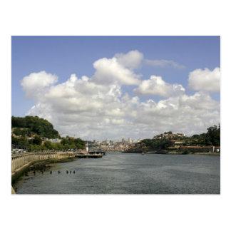 Oporto view postcard