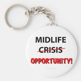 Oportunidad de la media vida - llavero