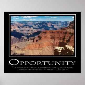 Oportunidad Posters