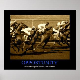 Oportunidad Poster