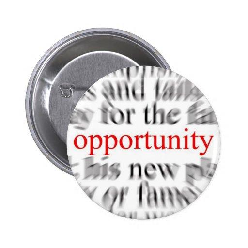 Oportunidad Pin Redondo 5 Cm