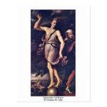Oportunidad y pesar por los carpos de Girolamo DA Tarjeta Postal
