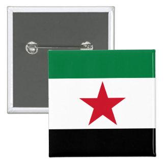 oposición de Siria Pin Cuadrado