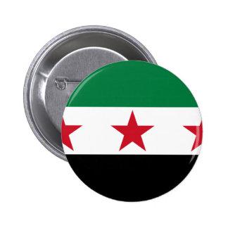 oposición de Siria Pin Redondo De 2 Pulgadas