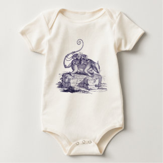 Opossom and Babies - Adorible Baby Wear Baby Bodysuit