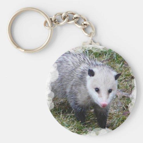 Opossum Keychain