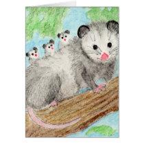 Opossum Mom