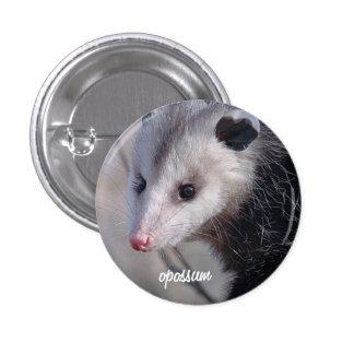 Opossum Pinback Button
