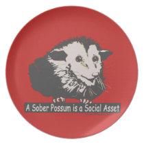 Opossum Plate