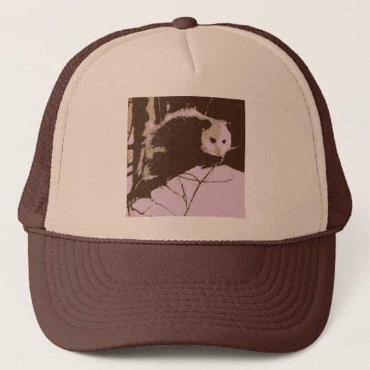 Opossum Pop Art Trucker Hat