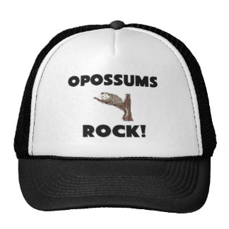 Opossums Rock Mesh Hats