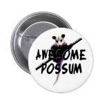 Oposum impresionante del oposum pin