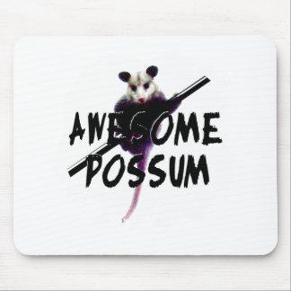 Oposum impresionante del oposum tapete de raton