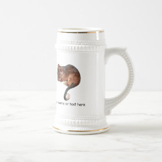 Oposum lindo del Ringtail del bebé Jarra De Cerveza