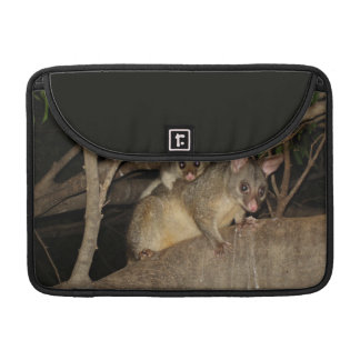 Oposums de Brushtail Fundas Para Macbook Pro