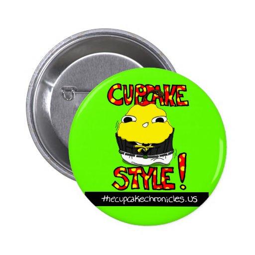 Oppa Cupcake Style Button