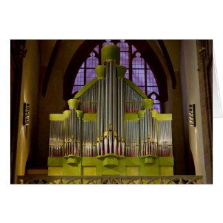 Oppenheim pipe organ card